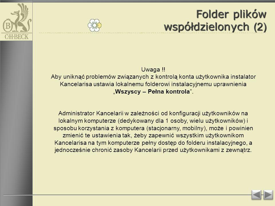 Folder plików współdzielonych (2)