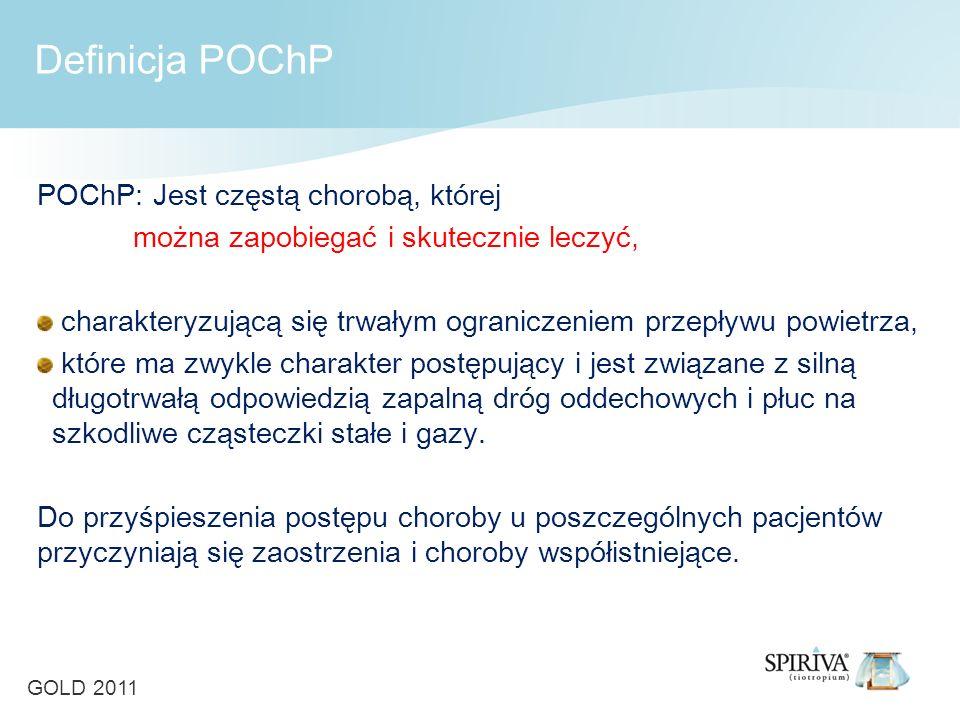 Definicja POChP POChP: Jest częstą chorobą, której