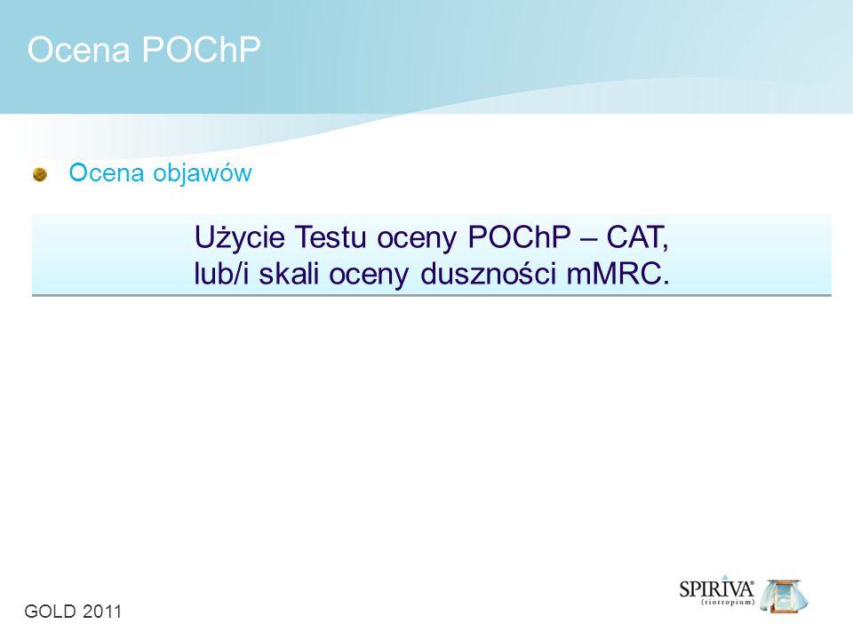 Ocena POChP Użycie Testu oceny POChP – CAT,