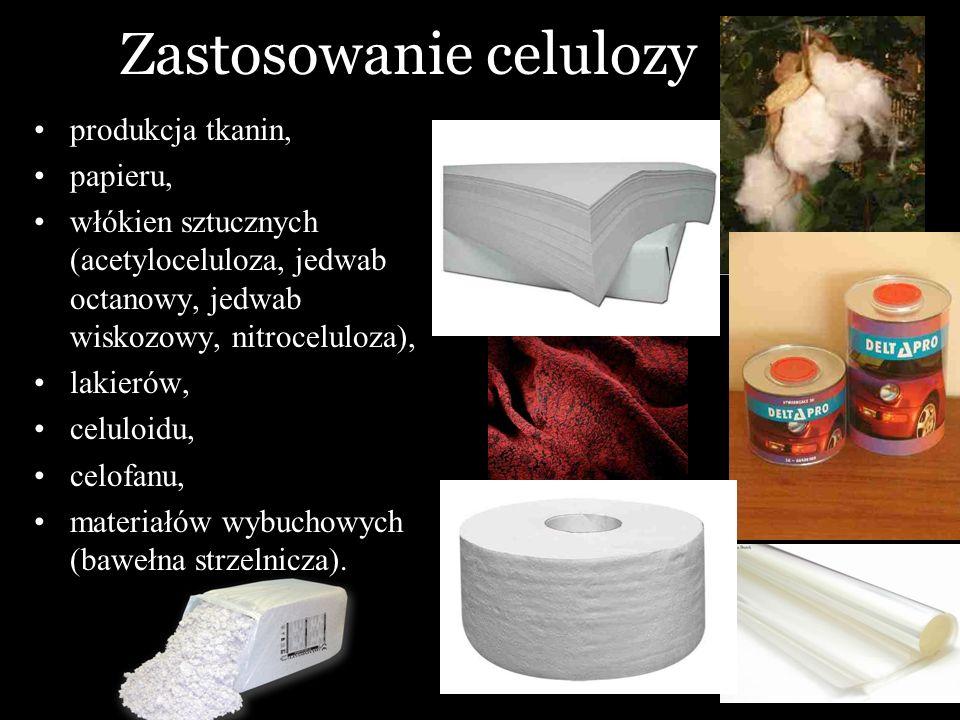 Zastosowanie celulozy