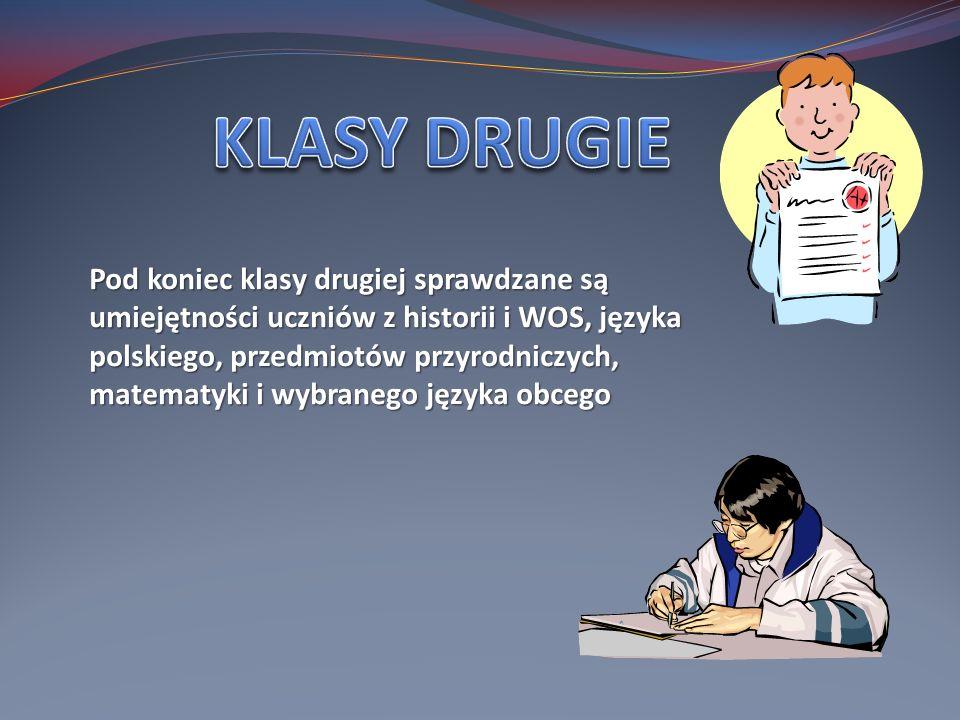 KLASY DRUGIE