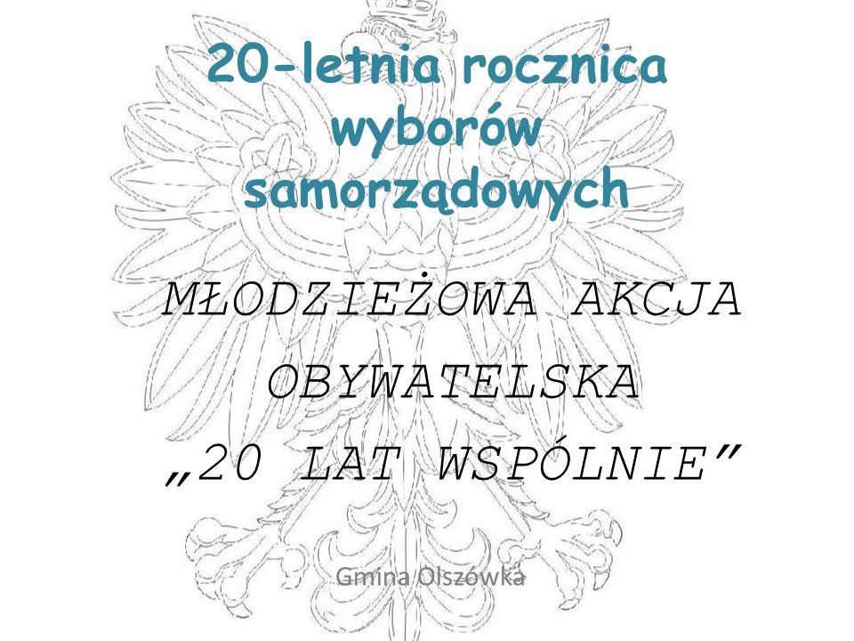 20-letnia rocznica wyborów samorządowych