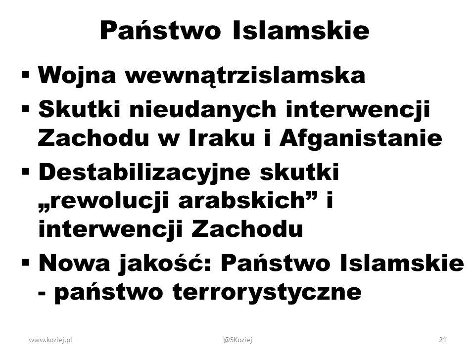 Państwo Islamskie Wojna wewnątrzislamska