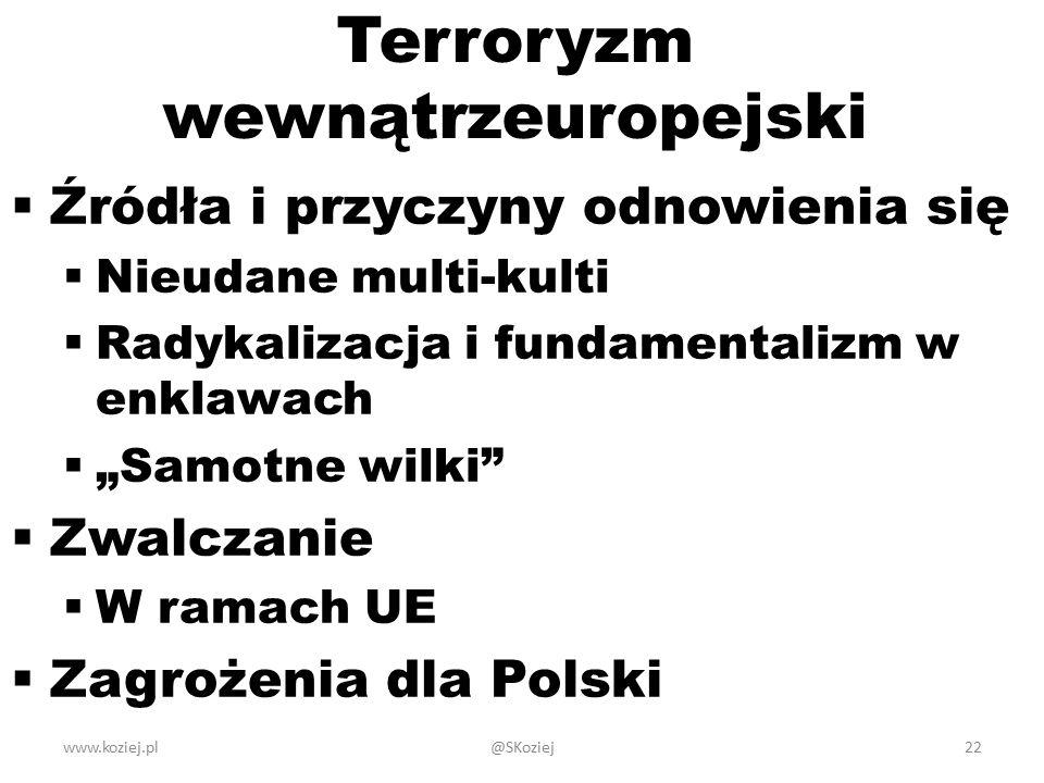 Terroryzm wewnątrzeuropejski