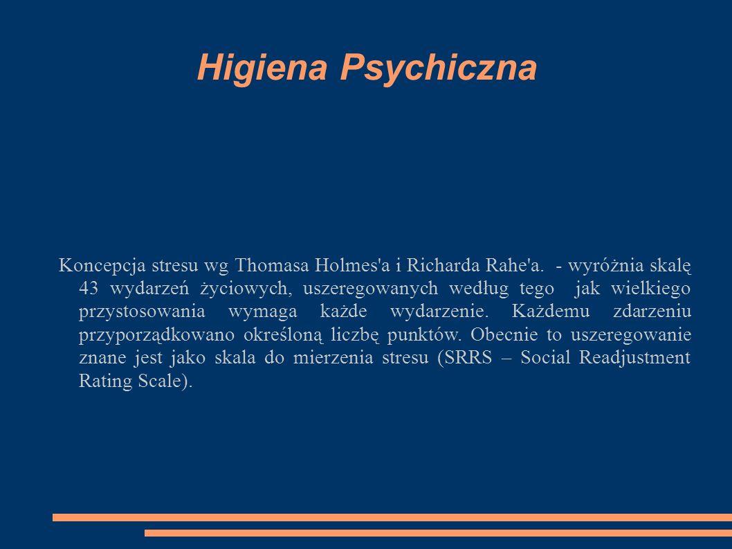Higiena Psychiczna