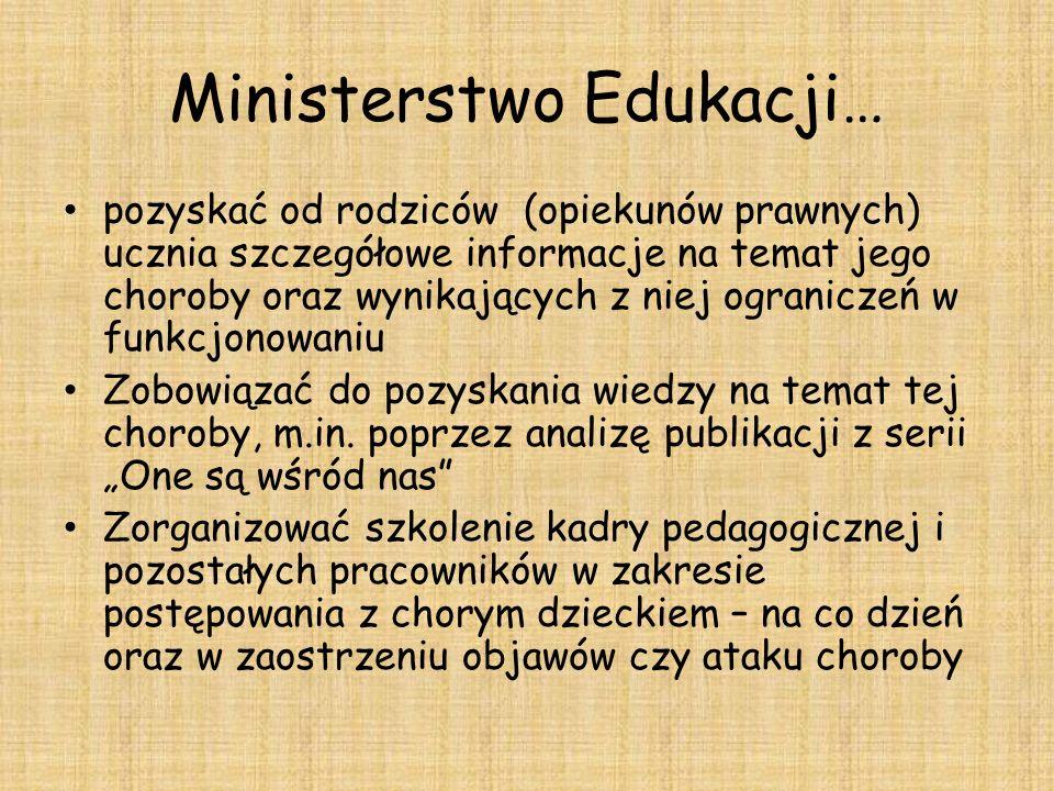 Ministerstwo Edukacji…