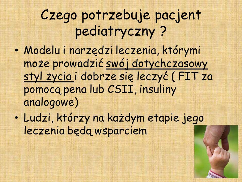 Czego potrzebuje pacjent pediatryczny