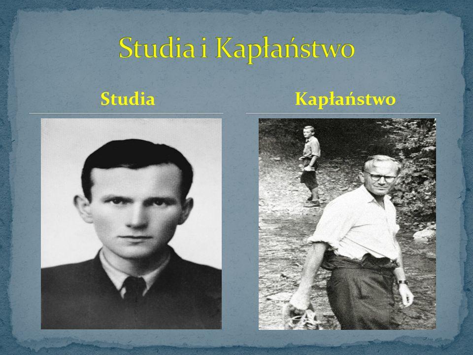 Studia i Kapłaństwo Studia Kapłaństwo