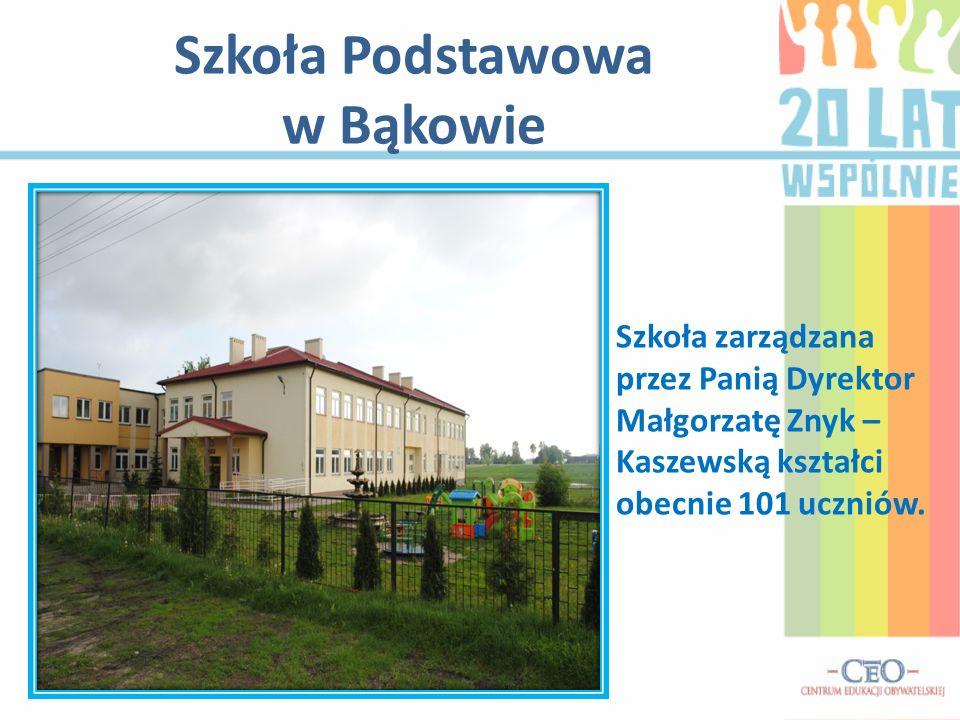 Szkoła Podstawowa w Bąkowie