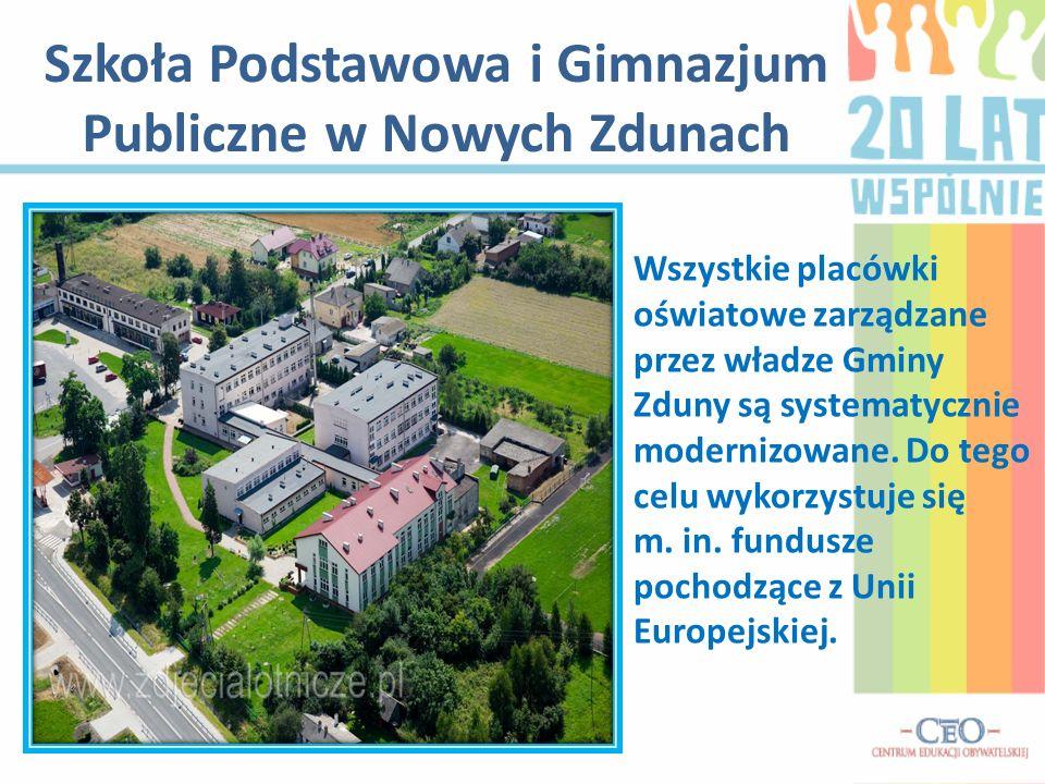 Szkoła Podstawowa i Gimnazjum Publiczne w Nowych Zdunach
