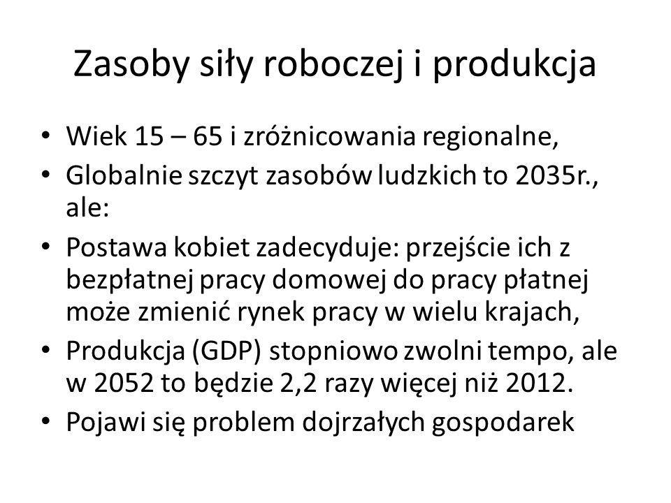 Zasoby siły roboczej i produkcja