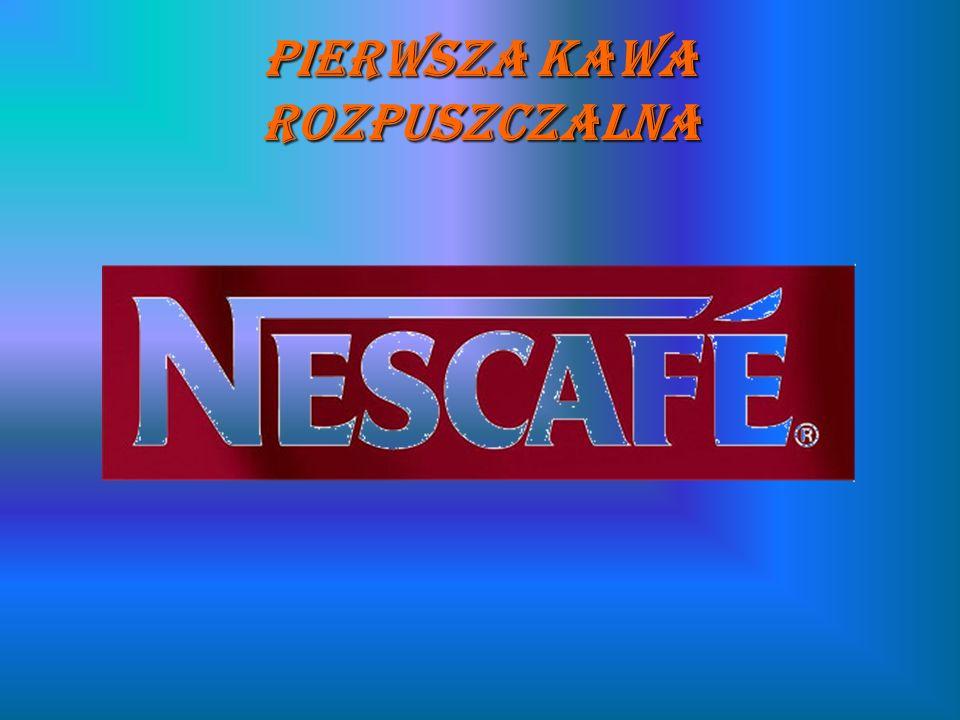 Pierwsza kawa rozpuszczalna