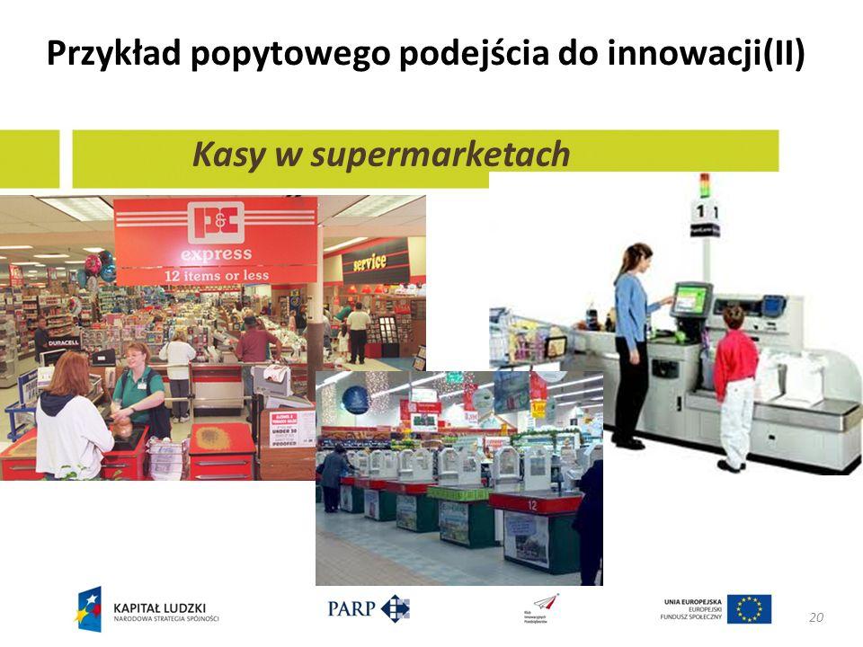 Przykład popytowego podejścia do innowacji(II)