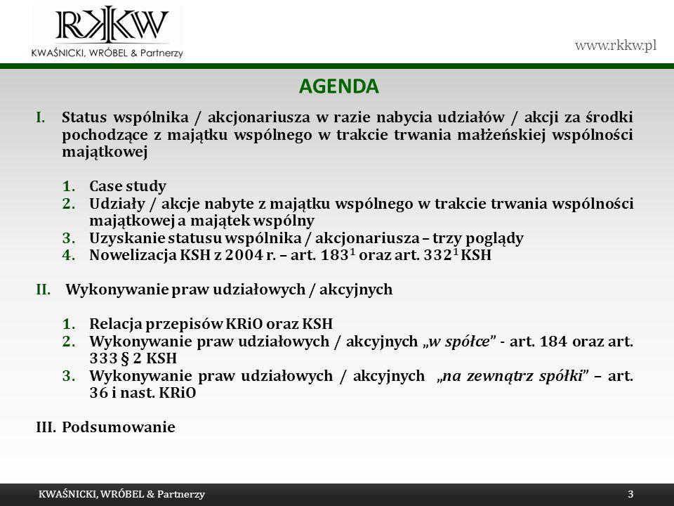 Tytuł prezentacji Agenda.