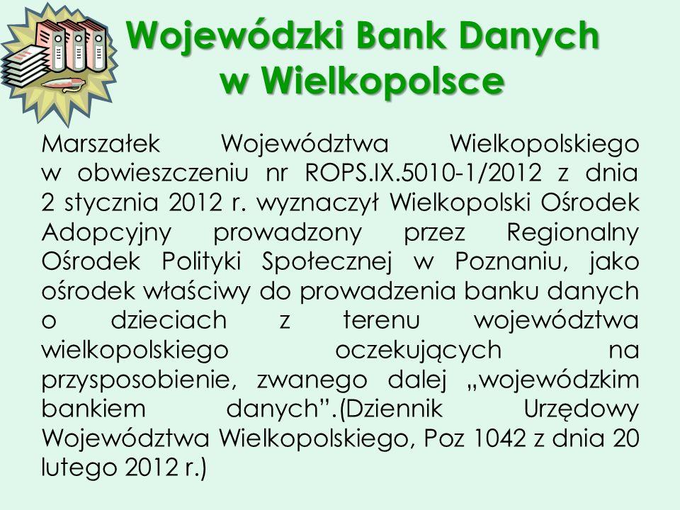 Wojewódzki Bank Danych w Wielkopolsce
