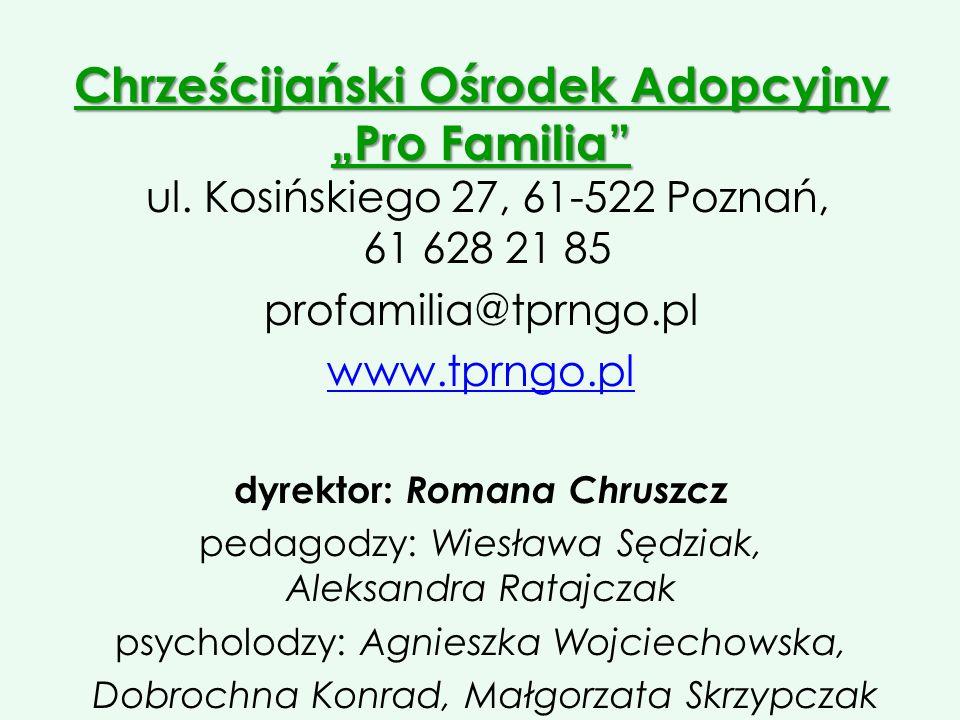 dyrektor: Romana Chruszcz