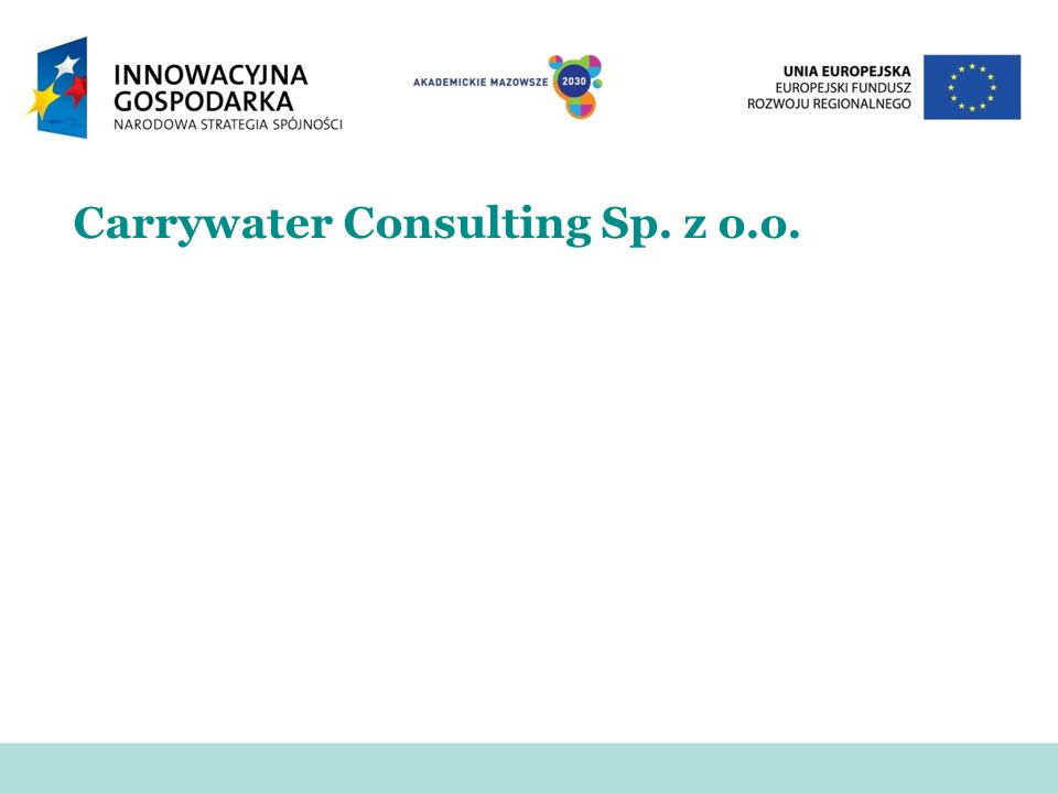 Carrywater Consulting Sp. z o.o.