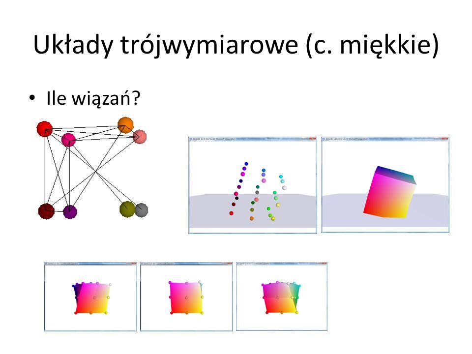 Układy trójwymiarowe (c. miękkie)