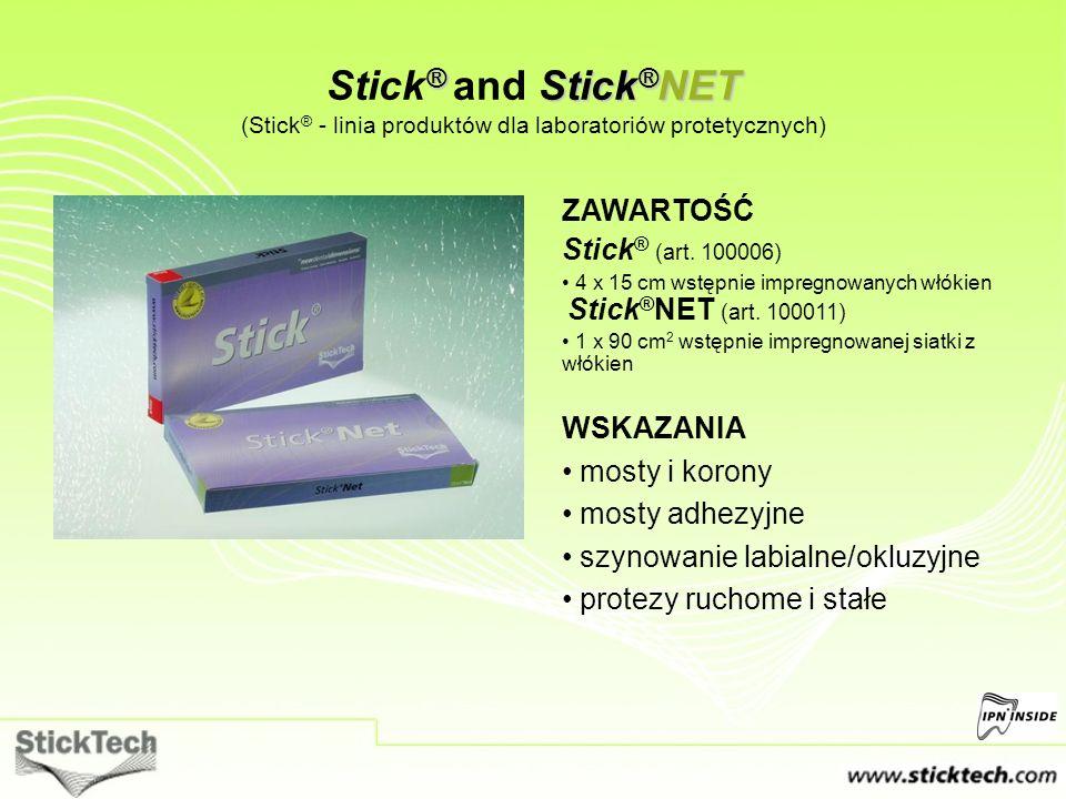 Stick® and Stick®NET (Stick® - linia produktów dla laboratoriów protetycznych)