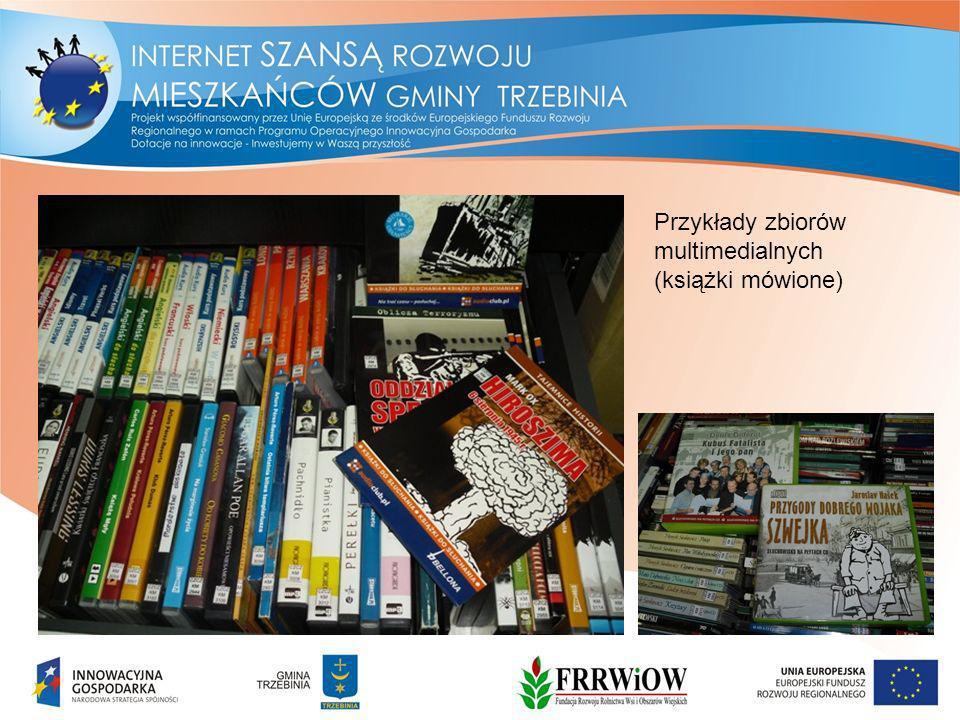 Przykłady zbiorów multimedialnych (książki mówione)