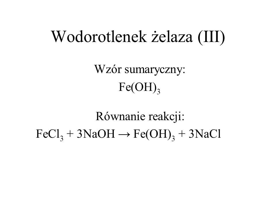Wodorotlenek żelaza (III)