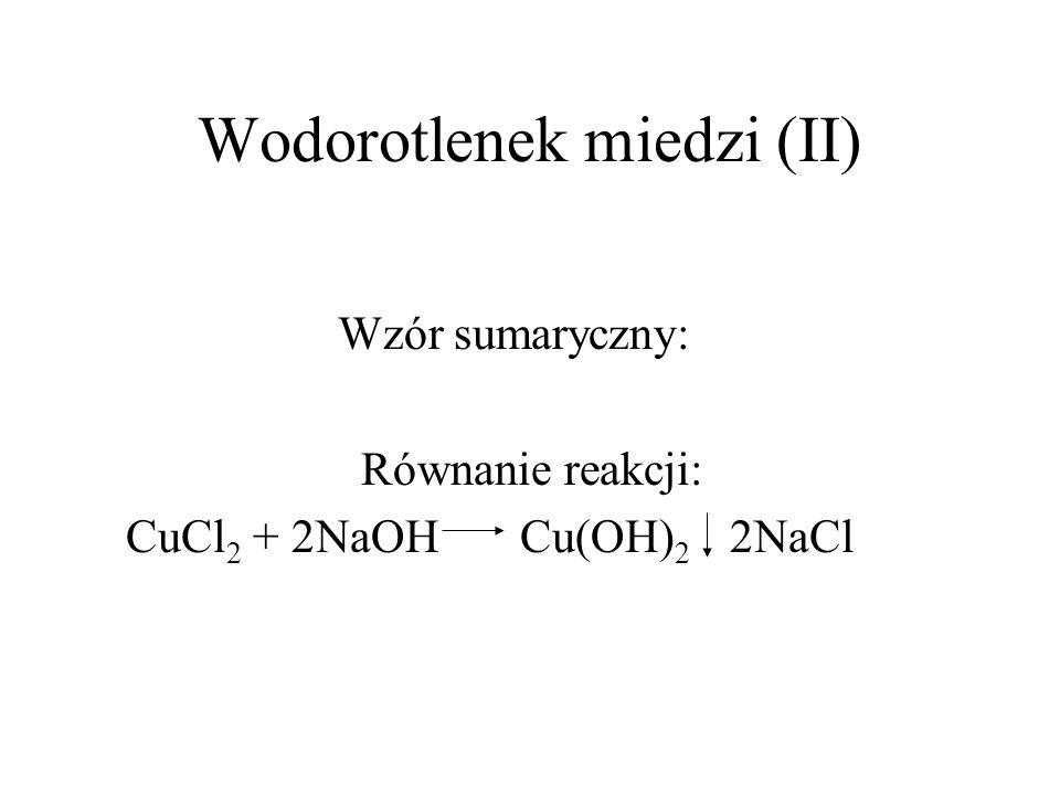 Wodorotlenek miedzi (II)