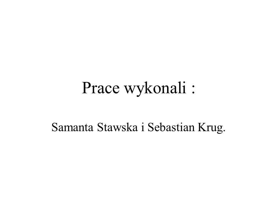 Samanta Stawska i Sebastian Krug.
