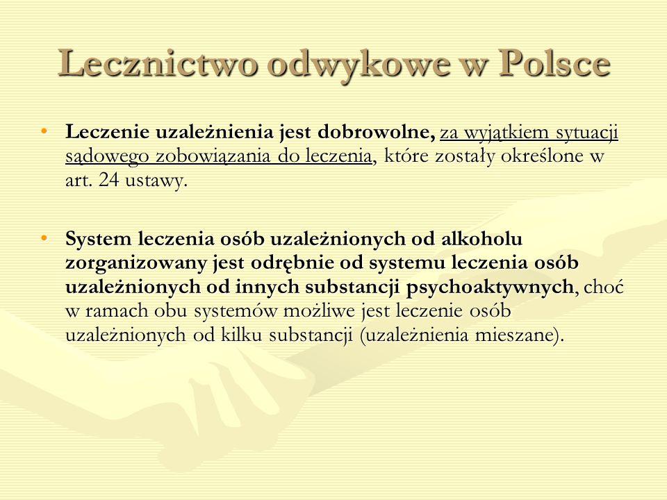 Lecznictwo odwykowe w Polsce