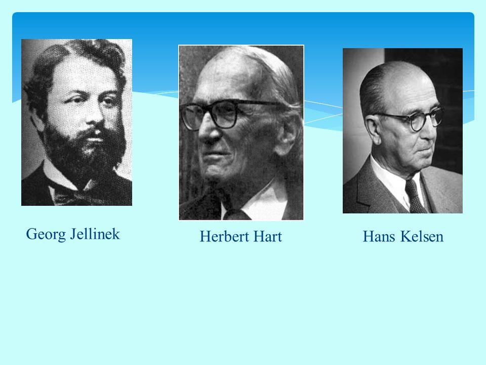 Georg Jellinek Herbert Hart Hans Kelsen