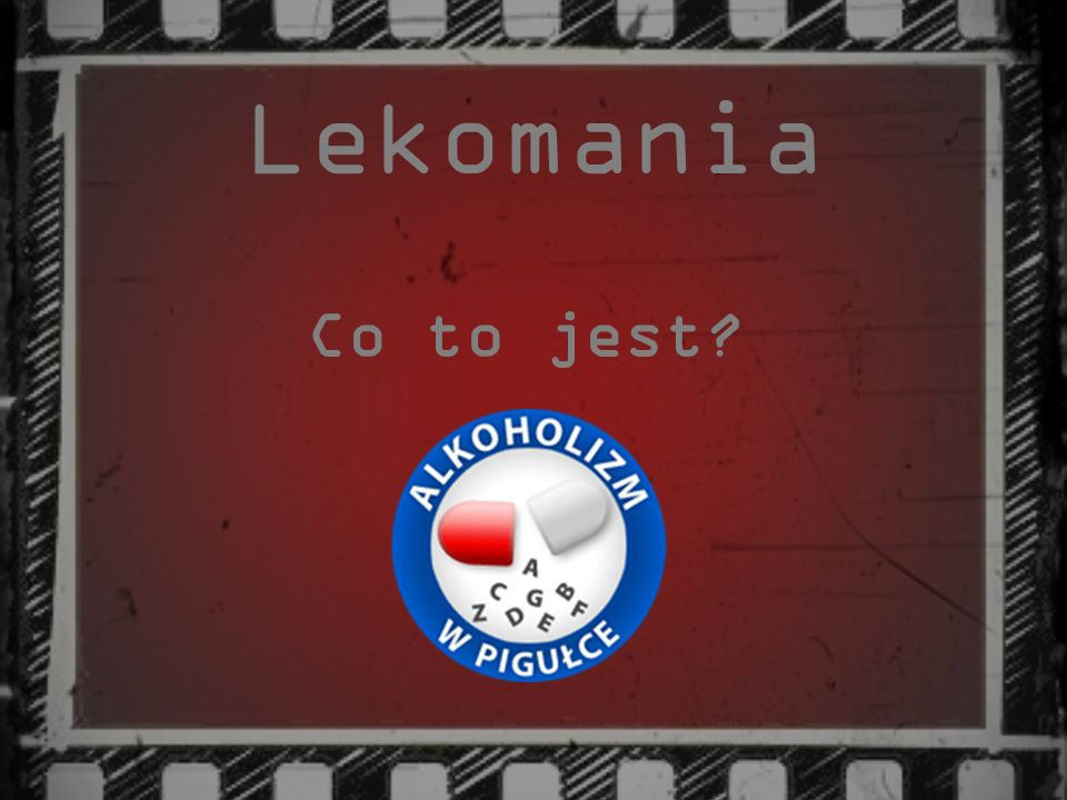 Lekomania Co to jest