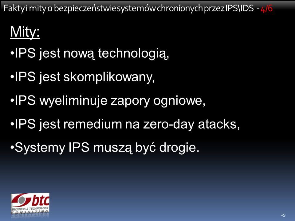 Mity: IPS jest nową technologią, IPS jest skomplikowany,