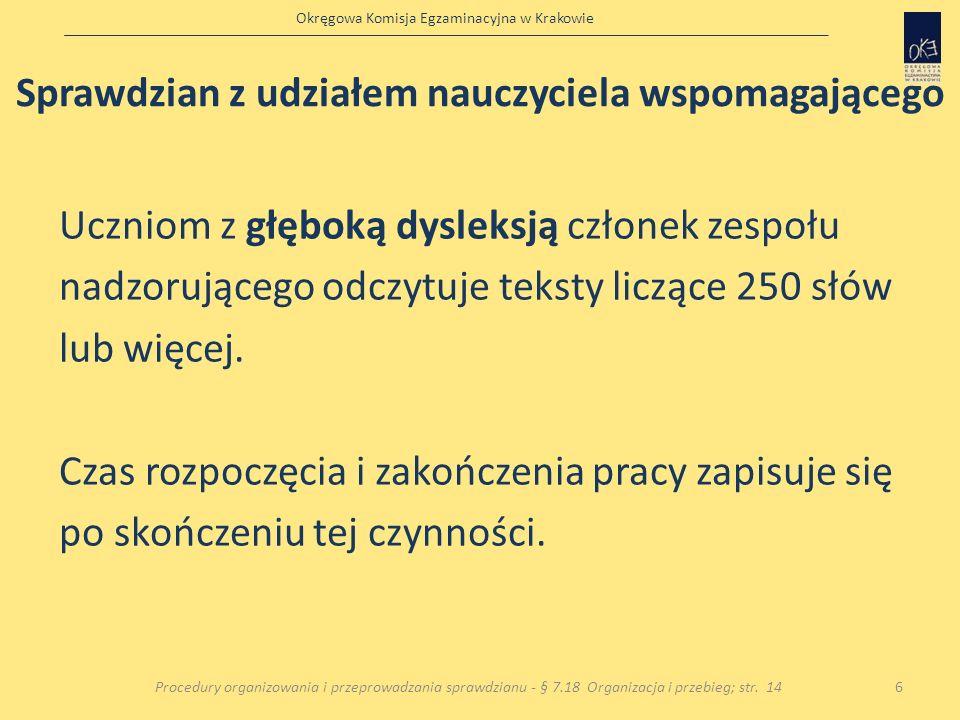Okręgowa Komisja Egzaminacyjna w Krakowie
