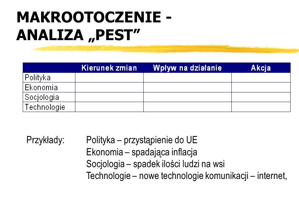 """MAKROOTOCZENIE - ANALIZA """"PEST"""