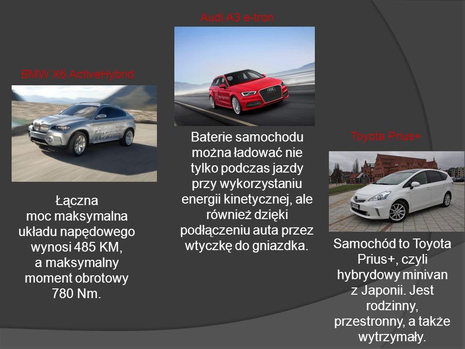 Audi A3 e-tronBMW X6 ActiveHybrid.