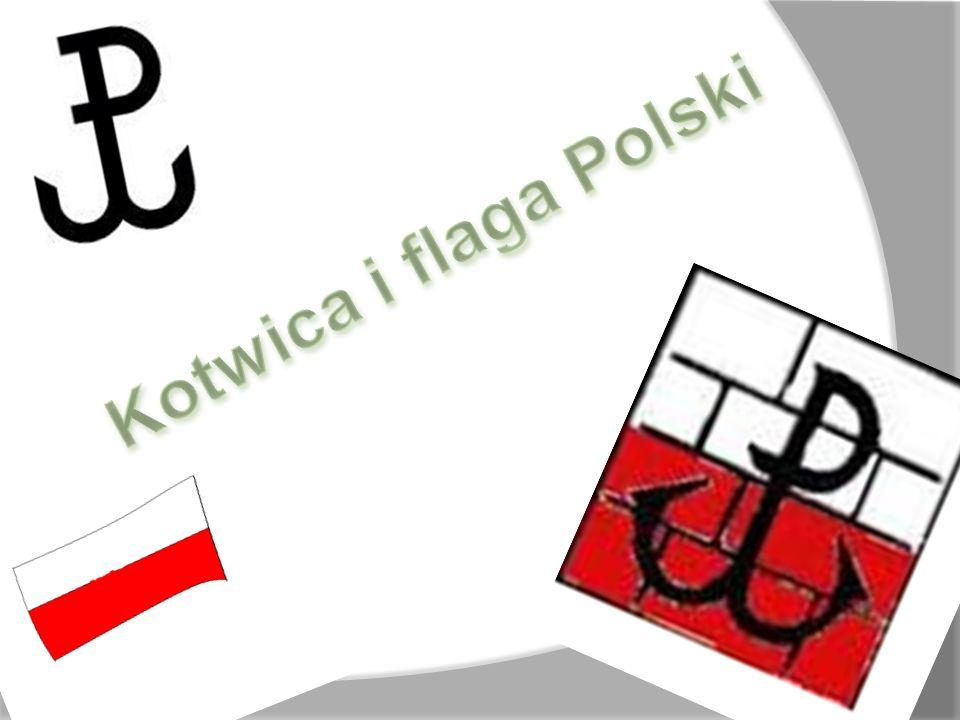 Kotwica i flaga Polski