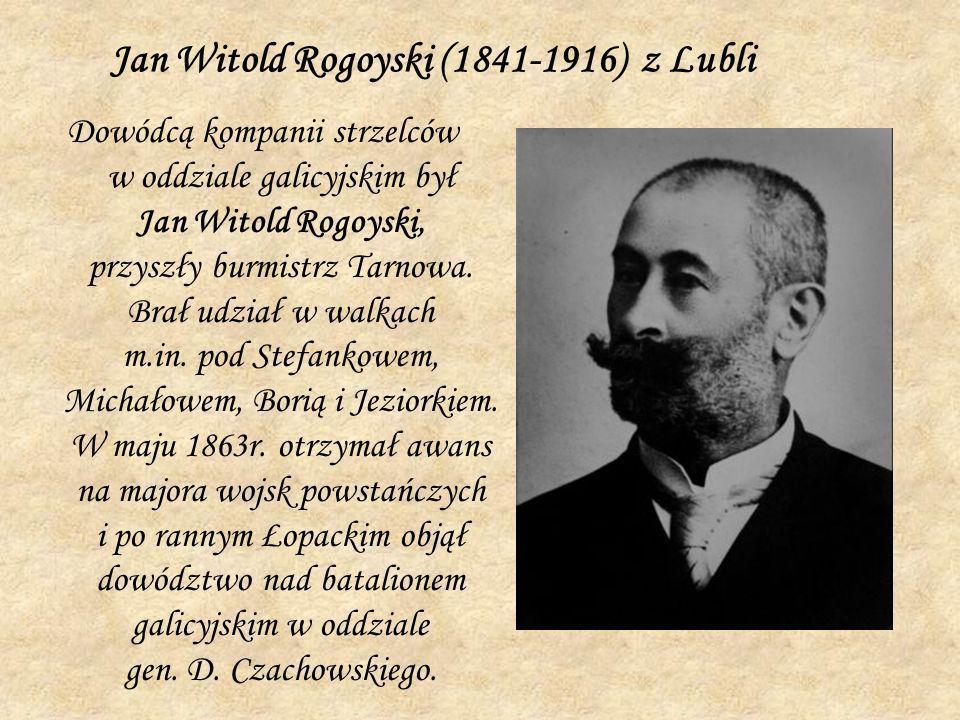 Jan Witold Rogoyski (1841-1916) z Lubli