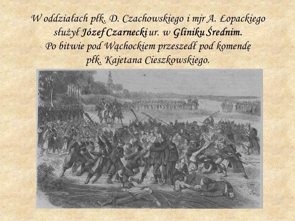 W oddziałach płk. D. Czachowskiego i mjr A