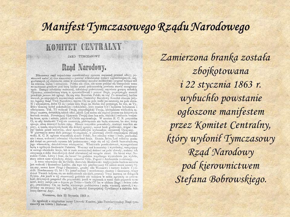 Manifest Tymczasowego Rządu Narodowego