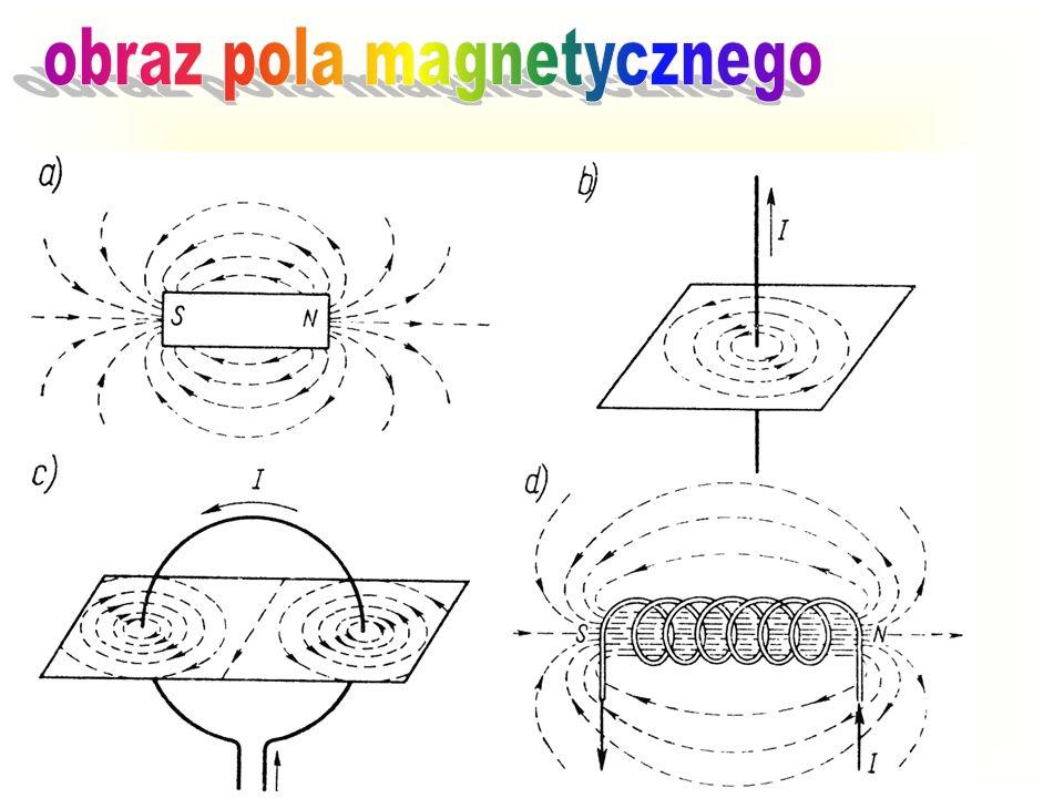 obraz pola magnetycznego