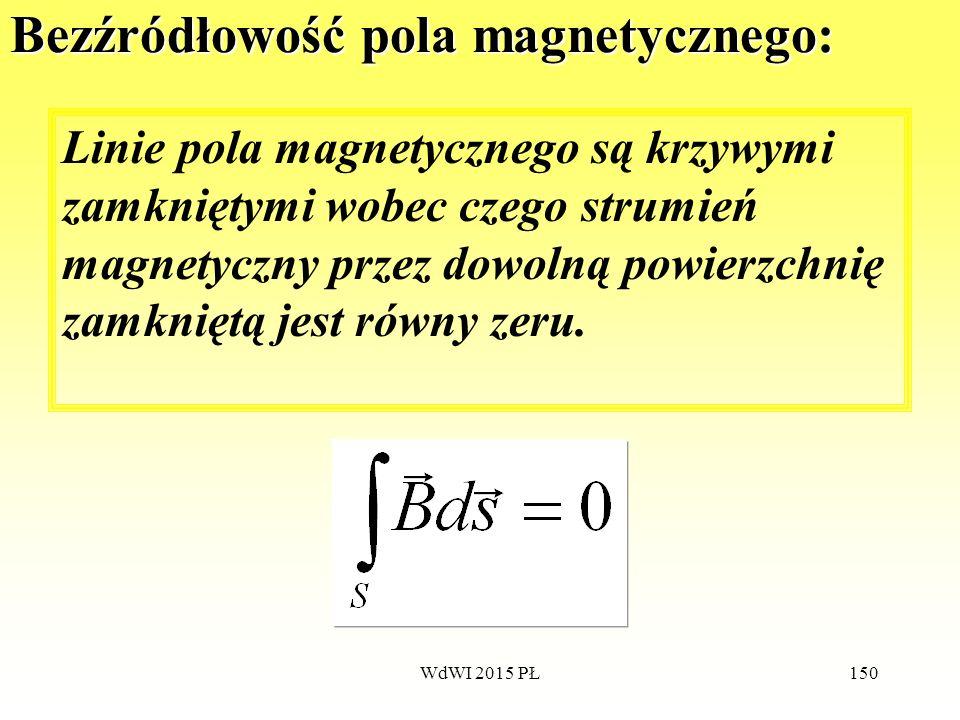 Bezźródłowość pola magnetycznego: