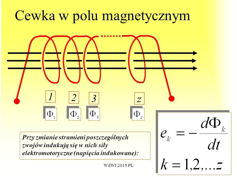 Cewka w polu magnetycznym