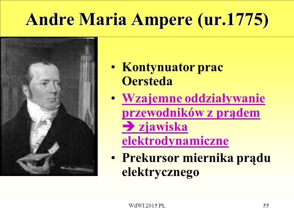 Andre Maria Ampere (ur.1775)