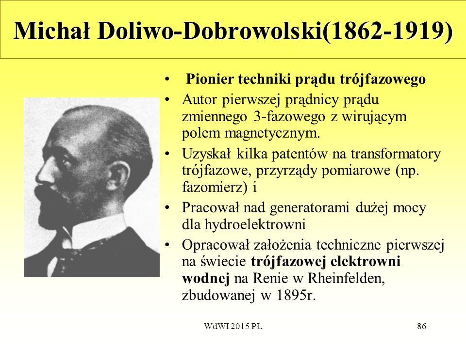 Michał Doliwo-Dobrowolski(1862-1919)