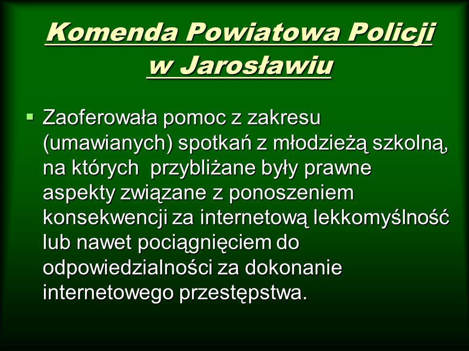 Komenda Powiatowa Policji w Jarosławiu