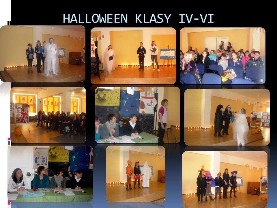 HALLOWEEN KLASY IV-VI