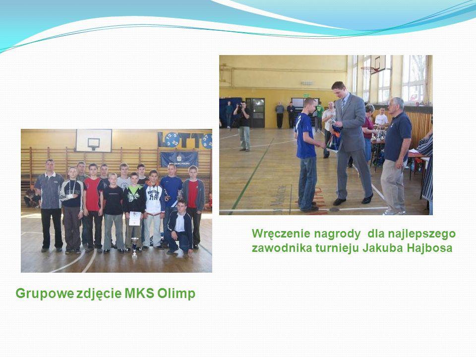 Grupowe zdjęcie MKS Olimp