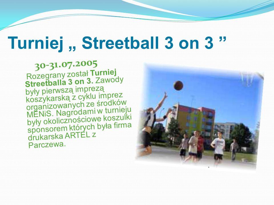"Turniej "" Streetball 3 on 3"