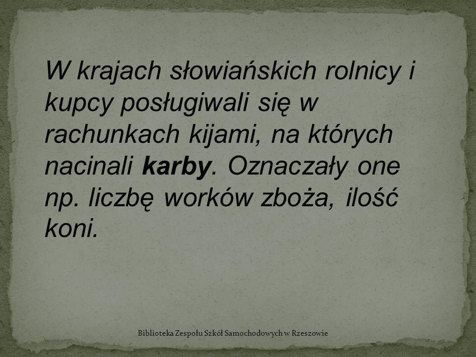 Biblioteka Zespołu Szkół Samochodowych w Rzeszowie