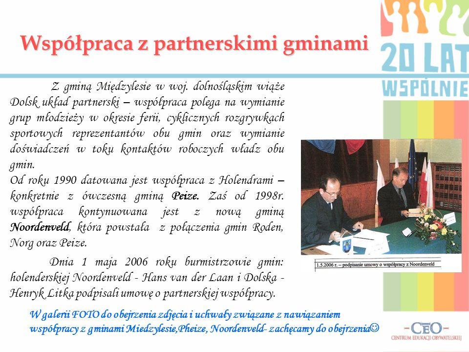 Współpraca z partnerskimi gminami