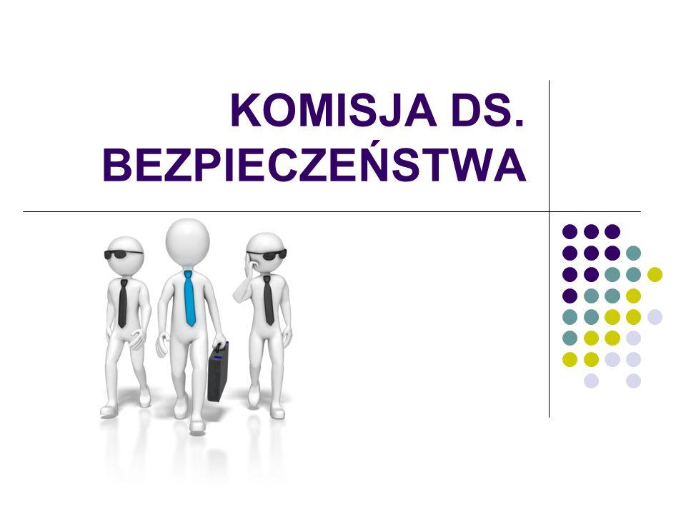 KOMISJA DS. BEZPIECZEŃSTWA